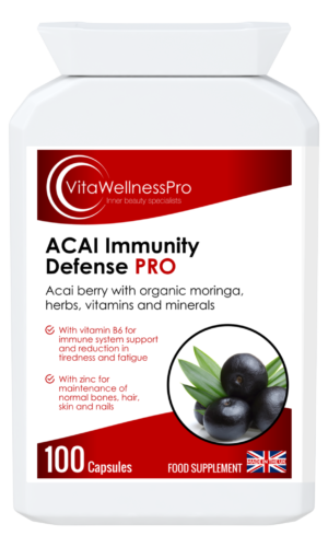 ACAI Immunity Defense Capsules with Herbs, Vitamins & Minerals - Immunity Boosters