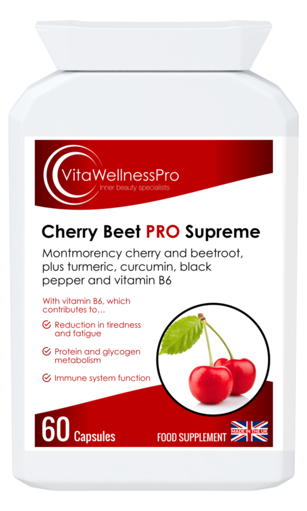 Cherry Beetroot Supplements for Energy & Immunity Support