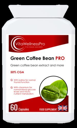 Green Coffee Bean Extract Complex Formula - Gluten-Free Health Supplements