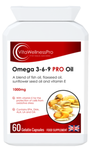 Balanced Blend of Omega Oils - All in One Omega Oil Food Supplements