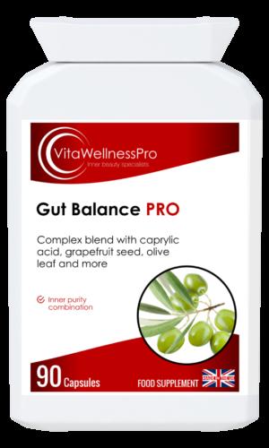 Gut Balance PRO - Herbal Gastrointestinal Care, Digestive Health Supplements