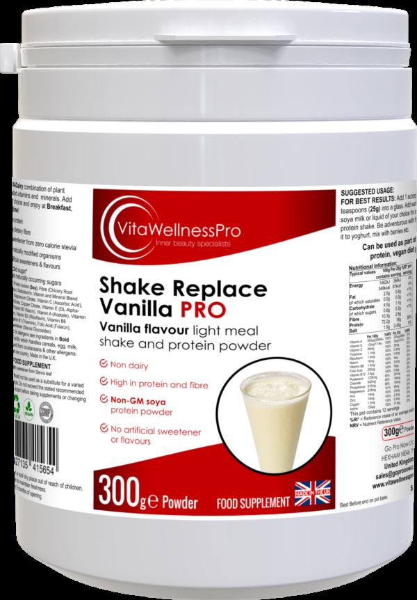 Vanilla Flavour Shake and Protein Powder - Dairy-Free & Gluten-Free Vanilla Flavoured Shake