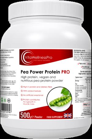 Pea Protein Powder with High Fibre - Pea Power Protein PRO