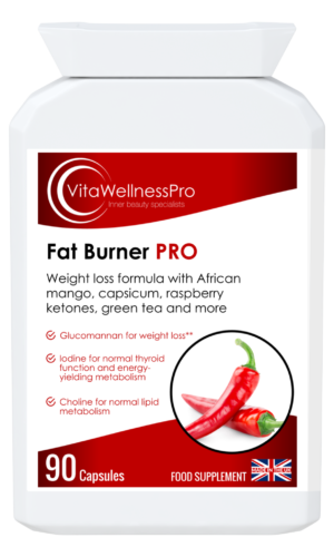 Fat Burner PRO - Weight Loss Capsules for Men and Women